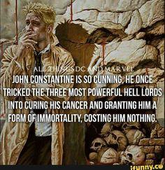 John Constantine the cunning bastard