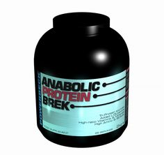 POWERBECK - ANABOLIC PROTEIN BREK POWDER ANABOLIC PROTEIN BREK  -  The perfect bodybuilding breakfast. Anabolic Protein Brek is a high protein oat & barley based  cereal complex. This is the perfect breakfast for any bodybuilder, MMA and strength athlete to give you that perfect start to the day.