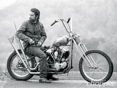 Love this photo of a 1946 Harley Davidson Knucklehead