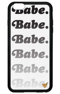 Babe iPhone 6 Plus/6s Plus Case