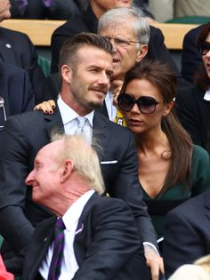 David and Victoria Beckham - i love this couple. I hope they stay together forever ❤☺