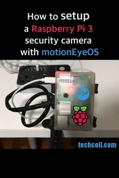 Ever wanted to setup a Raspberry Pi 3 security camera for home surveillance? If that's the case, this is how you can setup one with motionEyeOS. Security Surveillance, Security Alarm, Safety And Security, Security Tips, Surveillance System, Security Products, Security Service, Best Home Security, Security Cameras For Home