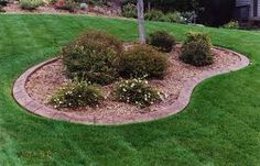 how to make an edging pattern for landscaping - Google Search