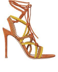 Braided-Strap Sandals