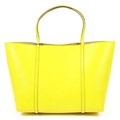 Made of: LEATHERDolce & Gabbana shopping bag St. Dolce And Gabbana Handbags, Discount Perfume, Yellow Leather, Gift Store, Bago, Famous Brands, Leather Handbags, Shopping Bag, Fashion Accessories