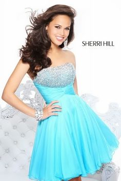 perfect blue puffy dress from Garcialili! - Gowns and updos ...