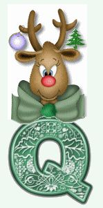 Rudolph animated alphabet.   Oh my alphabets!  They have lower case letters, but unable to pin them -- if you're interested.