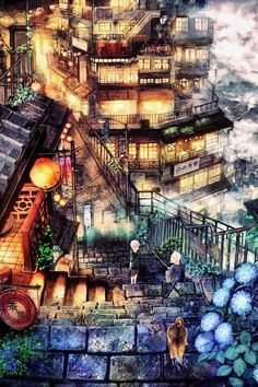 City Anime Wallpapers Imagen Scenery Original Ciudad Montain Picture… Source by misslouisedoll Comments comments