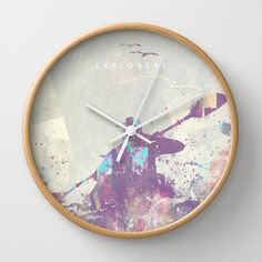 Buy Explorers II by HappyMelvin as a high quality Wall Clock. Worldwide shipping available at Society6.com. Just one of millions of products available.