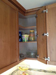Best Easy Reach Upper Kitchen Cabinet Corner Wall Cabinet 400 x 300