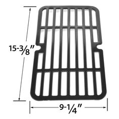 PORCELAIN STEEL REPLACEMENT COOKING GRID FOR MAXFIRE, BRINKMANN, CHARBROIL, HOME DEPOT GAS GRILL MODELS Fits Compatible Maxfire Models : 810-9212-S, Maxfire 810-9213-S