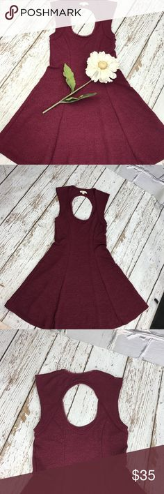 """💕SALE💕Urban Outfitters Burgundy Dress Gorgeous 💕Urban Outfitters Silence + Noise Burgundy Dress 33"""" from the top of the shoulder to the bottom 27"""" waist 15"""" from armpit to armpit Great Condition Urban Outfitters Dresses"""