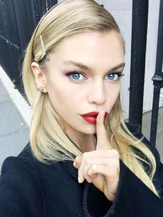 Exclusive: VS Angel Stella Maxwell Spills Her Beauty Secrets via @ByrdieBeauty