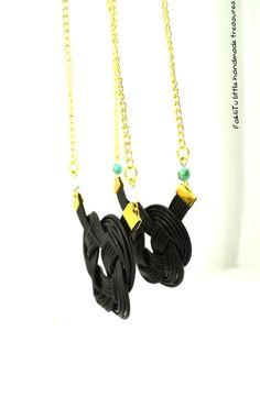 Tassel Necklace, Tassels, Handmade, Jewelry, Hand Made, Jewlery, Bijoux, Schmuck, Tassel