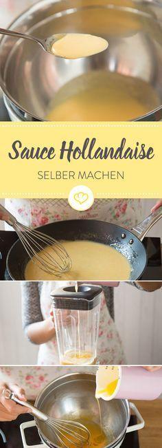 Selbstgemachte Sauce Hollandaise? Kein Problem, mit der richtigen Methode. Die 5 Besten gibt es hier zum Nachlesen und Ausprobieren.