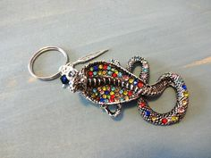 Rhinestone Snake Keychain Cobra Key Ring Snake by YoursTrulli Handmade Keychains, Handmade Gifts, Snake Jewelry, Etsy Crafts, Craft Items, Handmade Accessories, Key Rings, Unique Jewelry, Gift Ideas
