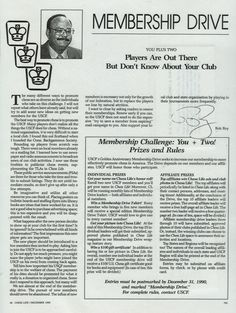 """Players are out there, but don't know about your club.  I won second place of the membership drive with 142 new players recruited. New York City Chess Club recruited 143 new members. I wrote this for the national """"Chess Life"""" magazine. Back then print media was how to get the word out. I wrote a weekly newspaper column on chess, then every 2 months print up and mail out a magazine to players across the state. It was an excellent way to promote my tournaments then report on the results."""