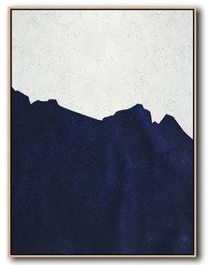 Minimalist art 469992911113255104 - Navy Blue Minimalist Art Source by mghnlll Minimalist Painting, Minimalist Art, Ship Paintings, Blue Poster, Blue Art, Wall Art Designs, House Painting, Wall Canvas, Abstract Art
