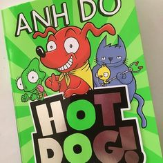 Book reviews by kids, for kids: Hotdog by Anh Do - Gift Grapevine