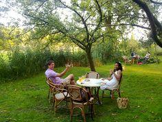 Buurtboerderij 'Ons Genoegen' is een oase van rust vlakbij het centrum van Amsterdam. Locatie: Spaarndammerdijk 313, 1014 AA Amsterdam. Foto: Akke Pinkster.