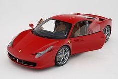 Ferrari 458 Italia Scale Model by Amalgam