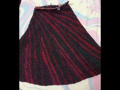 Knit Skirt, Skirts, Youtube, Fashion, Moda, Fashion Styles, Skirt, Fashion Illustrations