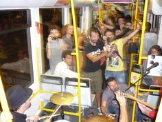 Croquette Awards - 1st edition Award Ceremony in a Tram running in lisbon