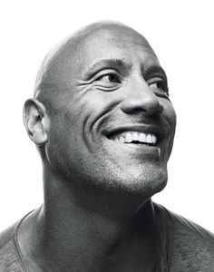 How Dwayne Johnson rocked the film industry What the larger-than-life performer learned on his amazing journey from poverty to pro wrestling to Hollywood. The Rock Dwayne Johnson, Dwayne The Rock, Rock Johnson, Famous Portraits, Celebrity Portraits, Black And White Portraits, Black And White Photography, Dwyane Johnson, Foto Face