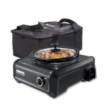 Crock-Pot® Hook Up® Connectable Entertaining System, 2-Quart, Metallic Charcoal Hoping to eventually have multiple in charcoal