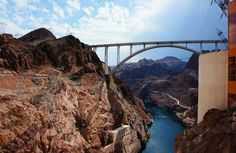 Hoover Dam Bypass and Colorado River