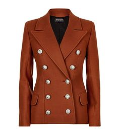 Balmain Double-Breasted Jacket available to buy at Harrods.Shop clothing online and earn Rewards points.