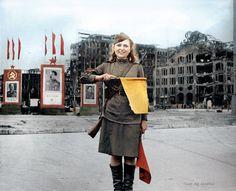 Pvt Luba Rosenowa Berlin July 45 Russian Zone
