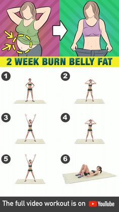 Here's how you can achieve a flat stomach in as fast as 2 weeks! Welcome to the flat belly workout challenge! Focus on working out your core with these high-intensity exercises that's guaranteed to burn not only your stomach fat but also your body's Fitness Workouts, Gym Workout Videos, Gym Workout For Beginners, Fitness Routines, Fitness Goals, Good Workouts, Morning Ab Workouts, Mini Workouts, Daily Exercise Routines