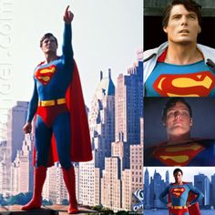 the late (&great) Christopher Reeve as the definitive Superman!