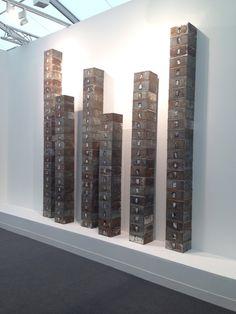 Christian Boltanski, Reserve of Dead Swiss (One's Not Dead) on ArtStack #christian-boltanski #art