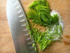 How To - Garlic Salt;  Lavender Salt;  spruce and salt