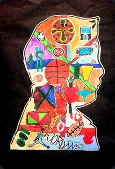 self portrait, 4th/5th grade