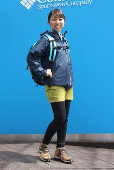 2014春のブランドコーデ 春の日帰りハイク|ファッション|山ガールネット 山とアウトドアファッションを愛する女子のための情報サイト