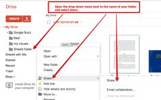 4 Important Google Drive Skills for Teachers ~ Educational Technology and Mobile Learning