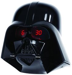 For all star wars fans, here is not just a cool alarm clock but having Darth Vader head in your house telling you about the hour in priceless