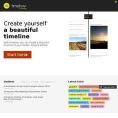 xtimeline an interactive timeline tool that allows students to