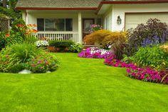 5 step per decorare il giardino con aiuole fiorite fai da te - Ville e Giardini