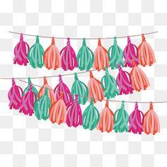 Tassel Garland, Tassels, Png Photo, Party Decoration, Dental Hygienist, Banner Vector, Planner Organization, Clipart Images, Diy Scrapbook