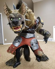 Watched the Blizzcon livestream all day long and especially enjoyed the costume competition! So congrats to @kazulgfox who placed first with her amazing Hogger! Every year she brought an iconic creature from the WoW universe to life but Hogger was clearly her masterpiece! Luckily she shared plenty of photos and videos of the progress so check out her page if you are curious and want to learn from her! After participating for so many years Im just super happy the was finally able to win this…