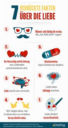 Infografik: 7 verrückte Fakten über die Liebe