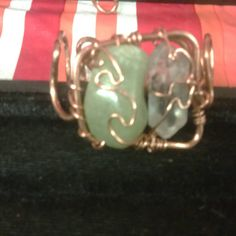 Check out this item in my Etsy shop https://www.etsy.com/listing/224714468/green-ghost-quartz-and-jade-bracelet