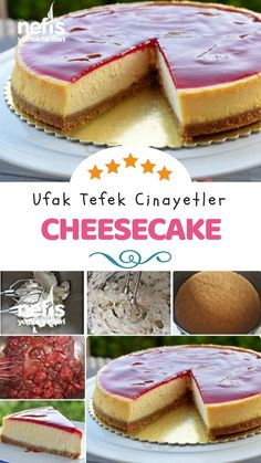 How to Make Raspberry Cheesecake (Little Murders Cheesecake) Recipe … - Rezepte Ideen No Bake Oreo Cheesecake, Easy Cheesecake Recipes, Raspberry Cheesecake, Easy Cookie Recipes, Pumpkin Cheesecake, Yummy Recipes, Homemade Peach Pie Recipe, Peach Pie Recipes, Dump Cake Recipes