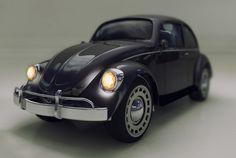 volkswagen beetle - modeling 3D - Car - lighting - Mental Ray - 3ds Max