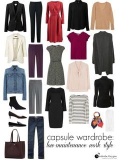 ca2f7b0678c A capsule wardrobe of machine washable work fashion and tips for shopping  for and keeping a