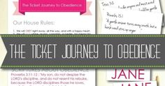 Here's a peek at how The Ticket Journey to Obedience helps us mold the character of our children while allowing the Spirit to flourish—and how it has helped me keep our homeschool day on track even when a strong will rears its head, threatening to throw our day into a drawn-out hostage negotiation.